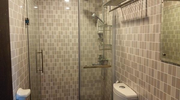 シャワールームもおしゃれ