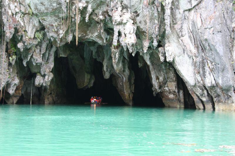 フィリピン・パラワン島で秘境と呼ばれるプエルト・プリンセサ地底河川国立公園