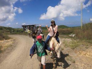 セブ島留学では乗馬体験も