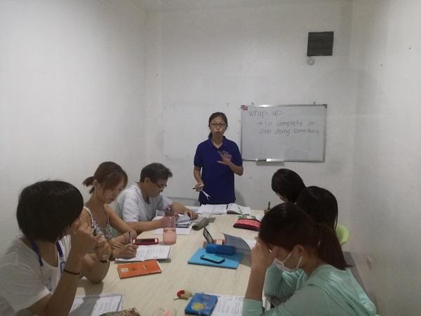 グループレッスンで使われる教室