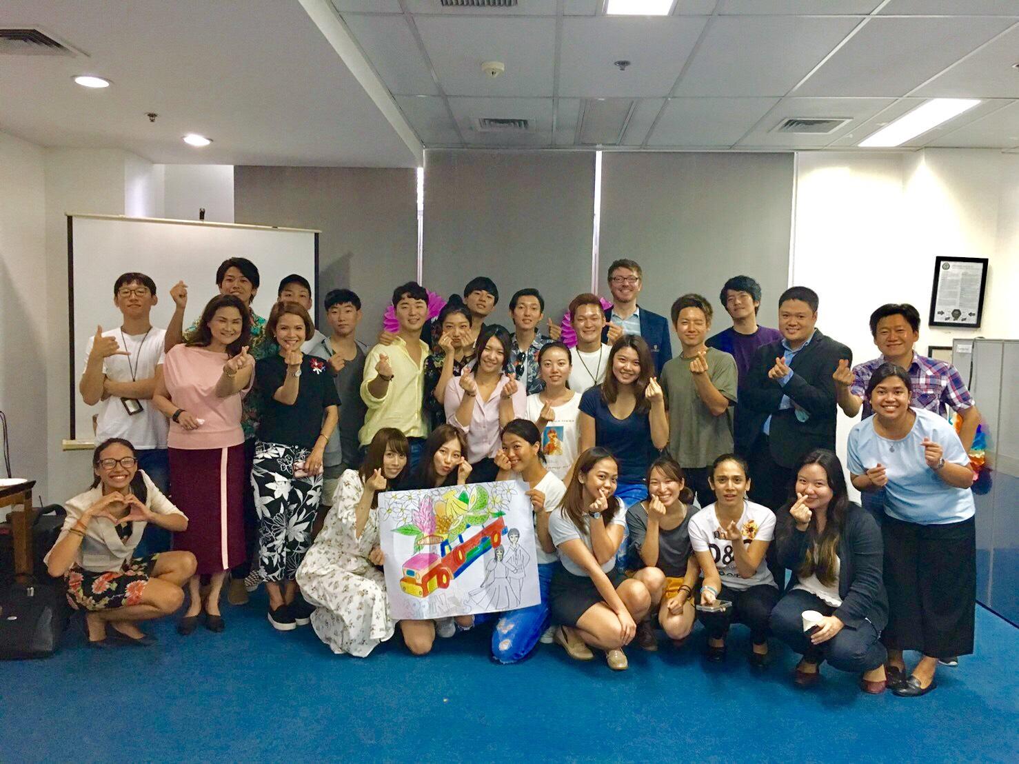 フィリピン語学学校では学校のイベントも
