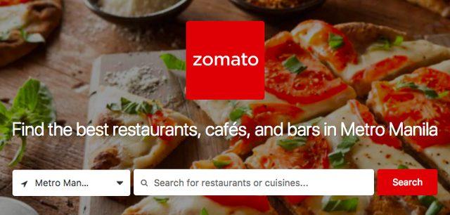 フィリピン版ぐるなび「 zomato 」が本当に使える!